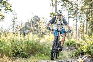 Mountainbiken im Granitland Granitland